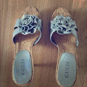 Guess heel sandals